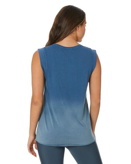 BLUE WOMENS CLOTHING THE UPSIDE ACTIVEWEAR - USW321003BLU