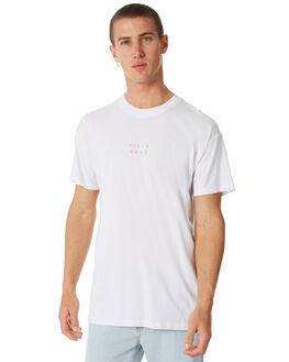 WHITE OUTLET MENS BILLABONG TEES - 9581017WHT