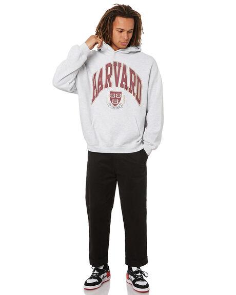 WHITE MARL MENS CLOTHING NCAA JUMPERS - NCHU0021WML