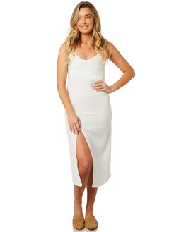 BLANC WOMENS CLOTHING THE BARE ROAD DRESSES - 991051-04BLANC