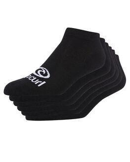 BLACK WOMENS CLOTHING RIP CURL SOCKS + UNDERWEAR - GSOBU10090