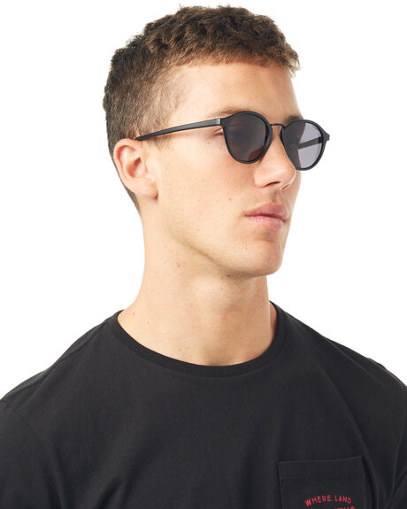MATTE BLACK MENS ACCESSORIES LE SPECS SUNGLASSES - LSP1702096MTBLK