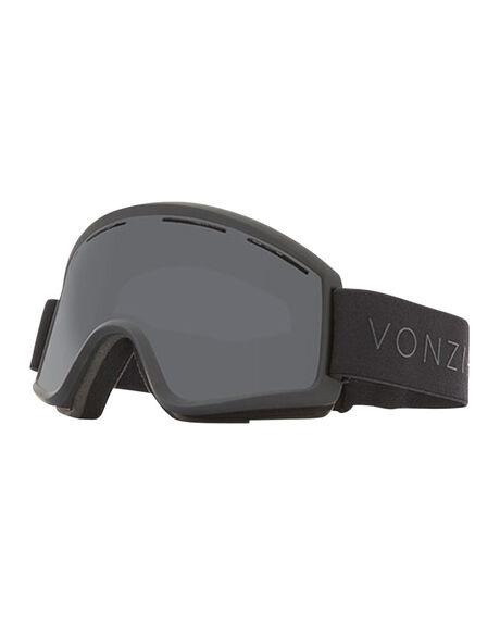 BLACK SATIN/BLACK BOARDSPORTS SNOW VONZIPPER GOGGLES - VZ-GMSCLEBBO-BLK