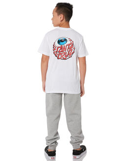 WHITE KIDS BOYS SANTA CRUZ TOPS - SC-YTA9194WHT