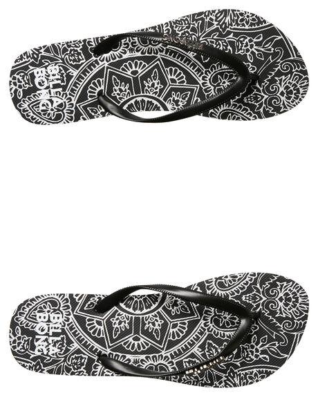 BLACK WOMENS FOOTWEAR BILLABONG THONGS - 6685804BLK