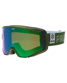 BRONZE GREEN SPEC BOARDSPORTS SNOW SPY GOGGLES - 310071570463BRNZ