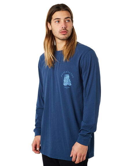 DARK DENIM MENS CLOTHING QUIKSILVER TEES - EQYZT04871BRQ0