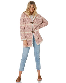 PINK AZTEC WOMENS CLOTHING O'NEILL JACKETS - 5321502PAZ