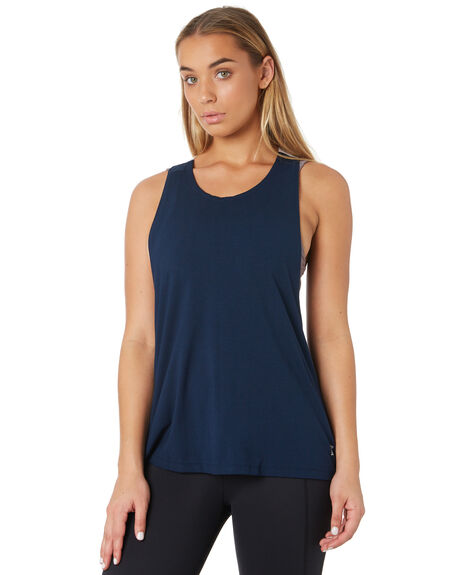 NAVY WHITE WOMENS CLOTHING ARCAA MOVEMENT ACTIVEWEAR - 1A027-2NVWT