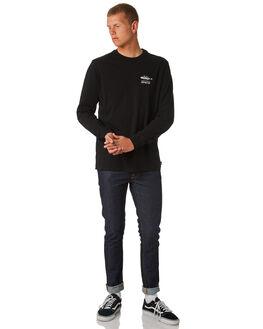 BLACK MENS CLOTHING DEPACTUS TEES - D5171102BLACK