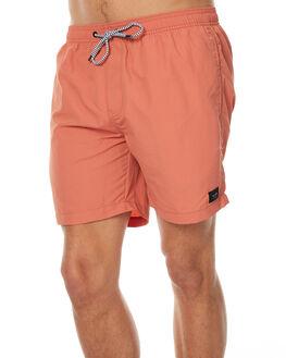 DUSTY CORAL MENS CLOTHING GLOBE BOARDSHORTS - GB01518019DCRL