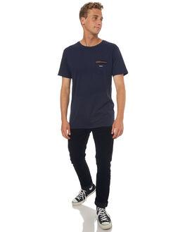 NAVY MENS CLOTHING RHYTHM TEES - JUL17-CT05-NAV