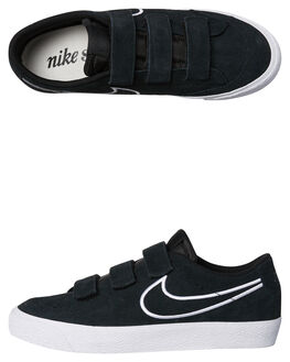 BLACK BLACK WOMENS FOOTWEAR NIKE SNEAKERS - SSAH3434-001W
