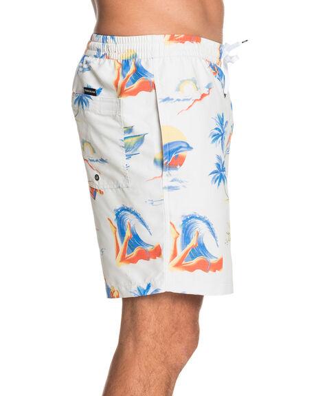SNOW WHITE MENS CLOTHING QUIKSILVER BOARDSHORTS - EQYJV03643-WBK6