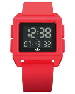 SHOCK RED MENS ACCESSORIES ADIDAS WATCHES - Z15-3120