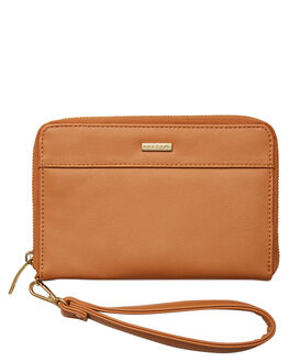 TAN WOMENS ACCESSORIES RUSTY PURSES + WALLETS - WAL0798TAN