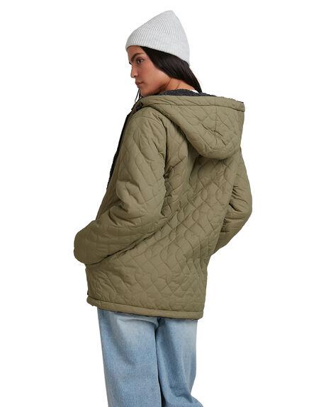 ARMY WOMENS CLOTHING BILLABONG JACKETS - 6518272-ARM