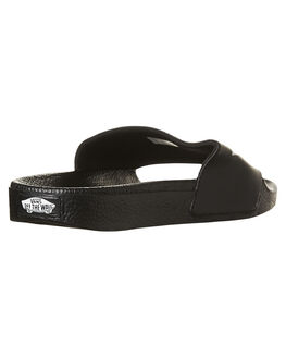 BLACK MENS FOOTWEAR VANS SLIDES - VN-04KIIX6BLK