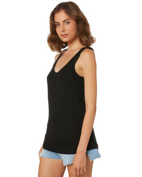 BLACK WOMENS CLOTHING SWELL SINGLETS - S8182272BLACK