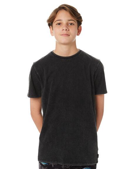ACID BLACK KIDS BOYS SWELL TEES - S3183005ACDBK