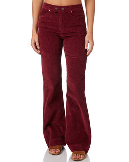 BURGANDY WOMENS CLOTHING TIGERLILY JEANS - T383372BURG