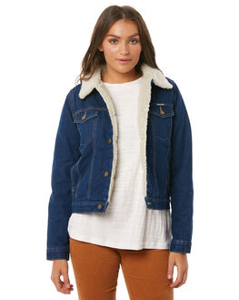 MARINE BLUES WOMENS CLOTHING ROLLAS JACKETS - 12534MAIN