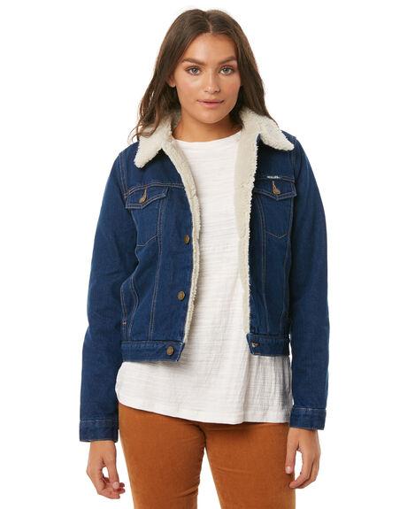 MARINE BLUES WOMENS CLOTHING ROLLAS JACKETS - 12534MAIN