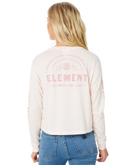 BLUSH WOMENS CLOTHING ELEMENT TEES - 273051ABLUS