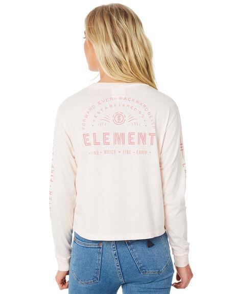 BLUSH WOMENS CLOTHING ELEMENT TEES - 273051ABLUS