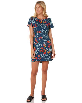 CAMELLIA FLORAL WOMENS CLOTHING ALL ABOUT EVE DRESSES - 6433010PRNT