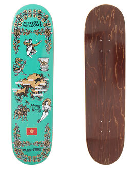 MULTI SKATE DECKS PASS PORT  - R22TEATOWELHKMULTI