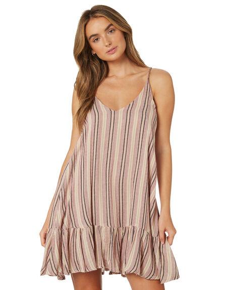 STRIPE WOMENS CLOTHING TIGERLILY DRESSES - T395447STR