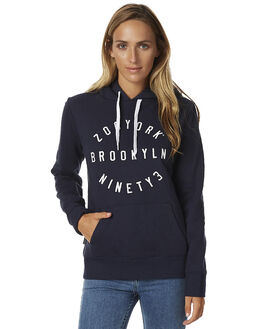 MOODY BLUE WOMENS CLOTHING ZOO YORK JUMPERS - ZY-WFA7179MBLU