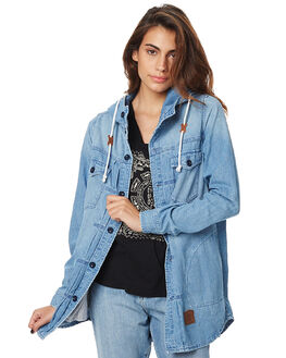 VINTAGE BLUE WOMENS CLOTHING ELEMENT JACKETS - 276463VBLU