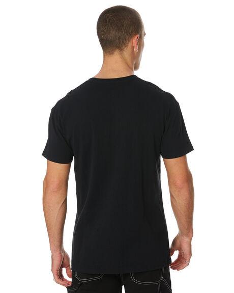 WASHED BLACK MENS CLOTHING MISFIT TEES - MT091013WBLK