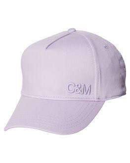 LAVENDER WOMENS ACCESSORIES C&M CAMILLA AND MARC HEADWEAR - OCMA98LAV