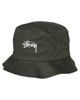 0fba6306cf91d FLIGHT GREEN MENS ACCESSORIES STUSSY HEADWEAR - ST783025FGRN