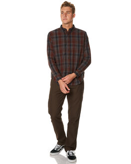 OVERDYE MENS CLOTHING OURCASTE SHIRTS - W1002ODGRY