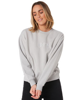 CONCRETE WOMENS CLOTHING HUFFER JUMPERS - WCR01S8301CONC