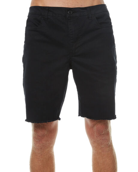 BLACK MENS CLOTHING SWELL SHORTS - S5174254BLK