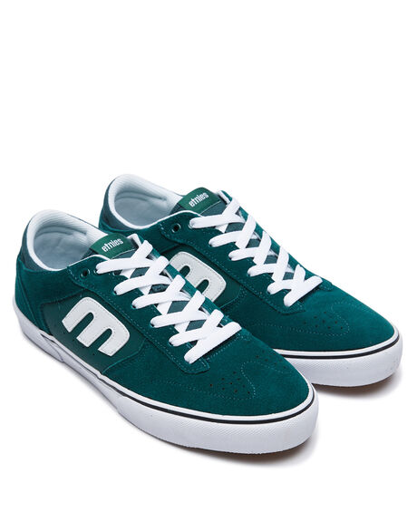 GREEN WHITE GUM MENS FOOTWEAR ETNIES SNEAKERS - 4101000543313