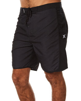 BLACK MENS CLOTHING HURLEY BOARDSHORTS - MBS000754000A