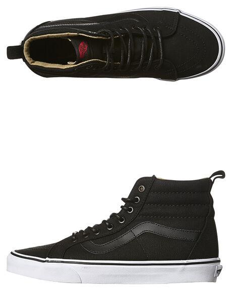 4fc90b6dcb Vans Sk8 Hi Reissue Pt Military Twill Shoe - Black White