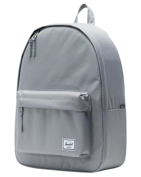 GREY MENS ACCESSORIES HERSCHEL SUPPLY CO BAGS + BACKPACKS - 10500-00006-OSGRY