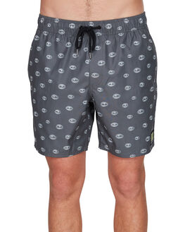 BLACK MENS CLOTHING RVCA BOARDSHORTS - RV-R305415-BLK
