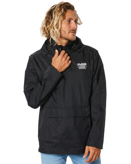 BLACK MENS CLOTHING VANS JACKETS - VN0A49PBBLKBLK