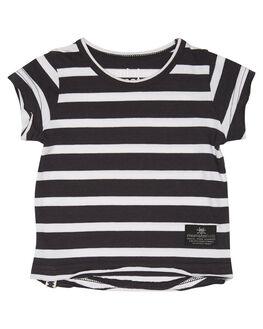 BLACK WHITE STRIPE KIDS BABY MUNSTER KIDS CLOTHING - MI181TE08BWS