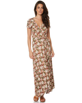 DUSTY ROSE WOMENS CLOTHING AUGUSTE DRESSES - AMG1-17600DPNK
