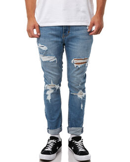 CRASH OUT MENS CLOTHING A.BRAND JEANS - 810603623