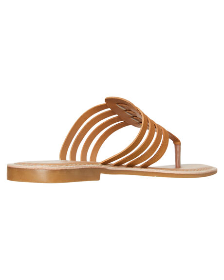 TAN WOMENS FOOTWEAR HUMAN FOOTWEAR FASHION SANDALS - SONYATAN